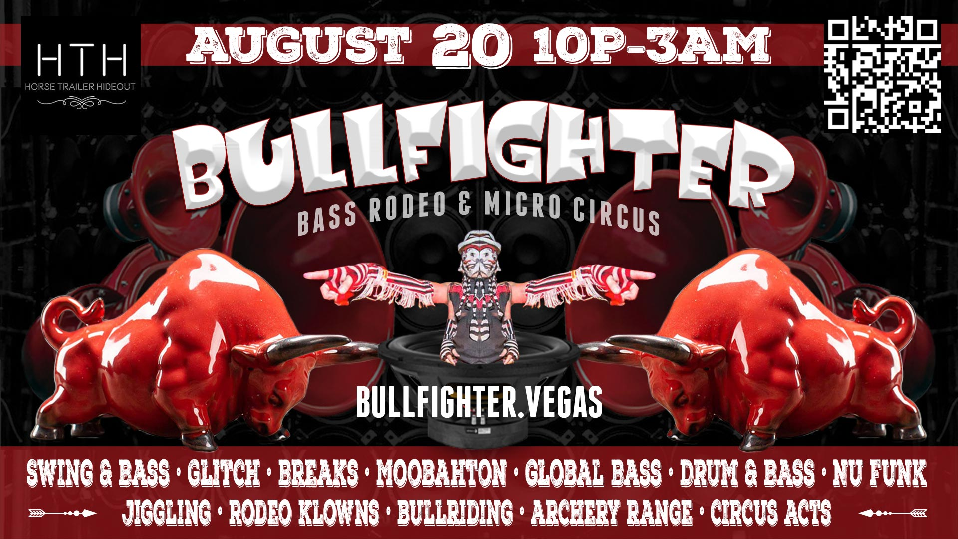 Bullfighter - Bass Rodeo & Micro Circus - August 20, 2021 - Horse Trailer Hideout, Las Vegas